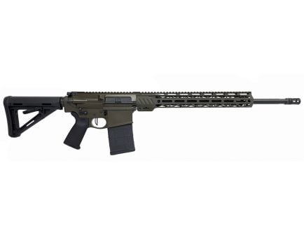 "PSA Custom 20""  Teflon Coated SS  6.5 Creedmoor 15"" Cross-Cut MLOK MOE Rifle w/ Flat Bow FCG & Ambi Safety"