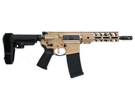 "PSA Custom 8.5"" Pistol-Length 300 AAC 1/7 Phosphate 7"" Lightweight M-LOK MOE Pistol w/ Flat Bow FCG & SBA3 -Tan"