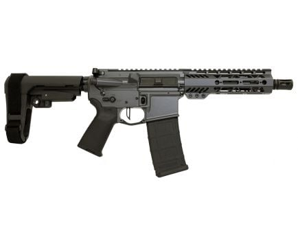 "PSA Custom .300 AAC 8.5"" Phosphate 7"" M-LOK SBA3 Pistol w/ Flat FCG - Gray"