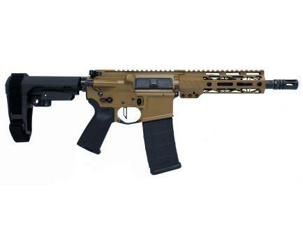 "PSA Custom 300 AAC 8.5"" Phosphate 7""  M-LOK SBA3 Pistol w/ Flat FCG -Coyote"