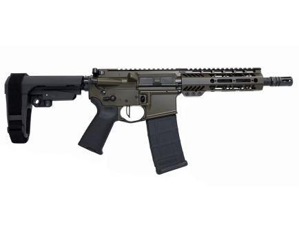 "PSA Custom .300 AAC 8.5"" Phosphate 7"" M-LOK SBA3 Pistol w/ Flat FCG -OD Green"