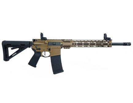 "PSA Custom 5.56 NATO 16"" Phospate 12"" MLOK MOE Rifle w/ 3.5lb Flat FCG - Coyote"