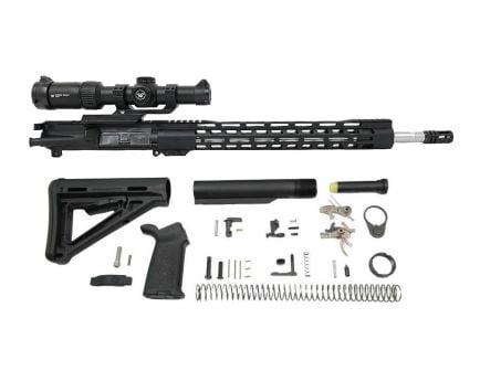 "PSA 18"" Rifle-Length .223 Wylde 1/7 Stainless Steel 15"" M-lok MOE 2-Stage Precision Rifle Kit, with GEN 2 Vortex Strike Eagle 1-6x24"