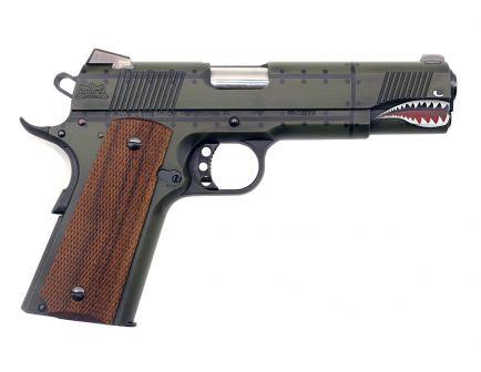 "PSA Custom ""P40 Warhawk"" .45 ACP M1911 Pistol w/ 3 Magazines, Soft Range Case, & Watertight Storage Case"