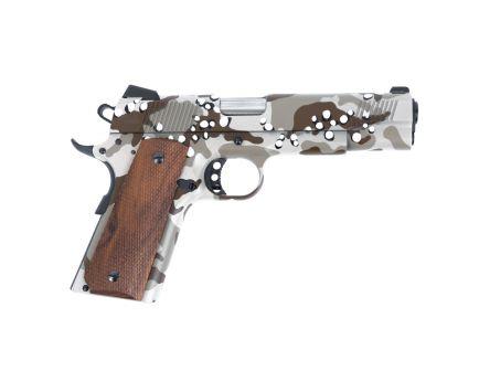 "PSA Custom ""Chocolate Chip"" .45 ACP M1911 Pistol w/ 3 Magazines, Soft Range Case, & Watertight Storage Case"