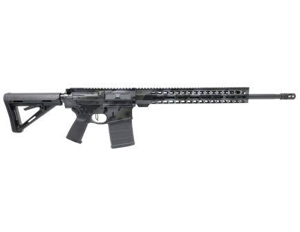 "PSA Custom ""OCP Black"" .308 Win 20"" Black Teflon SS Barrel 15"" MLOK Rifle w/Ambi Safety, & 3.5 lb FCG"