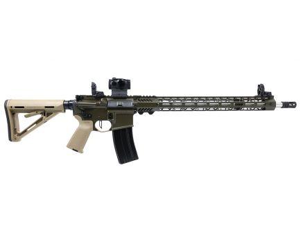 "PSA Custom 6.5 Grendel 20"" Stainless 1/8 18"" Cross-Cut MLOK Rifle w/ Romeo 5, MBUS Sights, Ambi Safety, 3.5 lb Flat FCG - ODG/FDE"