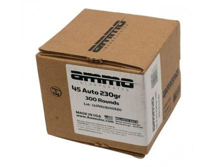 Ammo Inc 45 ACP Ammo 230 Grain TMC 300rd Range Pack - 45230TMC-B300