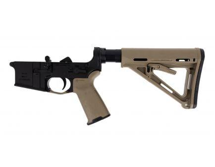 BLEM PSA AR-15 Complete MOE+ Stealth Lower, FDE