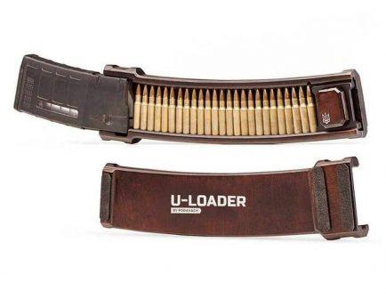 Mag Loader AR-10, Natural Wood - L10BR