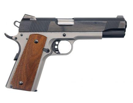 PSA Custom .45 ACP 1911 Stainless Two-Tone w/Walnut Grips, 3 Magazines, Soft Range Case, & Watertight Storage Case