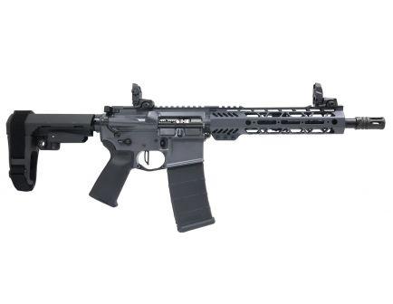 "PSA Custom .300 AAC 10.5"" Nitride 9"" MLOK SBA3 Pistol w/ NiB BCG, 3.5lb Flat FCG - Gray"