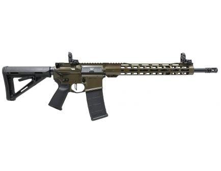 """PSA Custom .223 Wylde 16"""" Nitride 13.5"""" MLOK MOE Rifle w/ 3.5lb Flat FCG - ODG"""