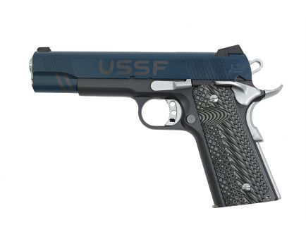 PSA Custom USSF .45 ACP 1911 Pistol w/Micarta Grips, 3 Magazines, Soft case and Watertight Storage Case
