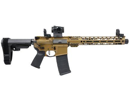 "PSA Custom .300 AAC 10.5"" Phosphate  12.5"" MLOK SBA3 Pistol w/Romeo5 & 3.5lb Flat FCG - Coyote"