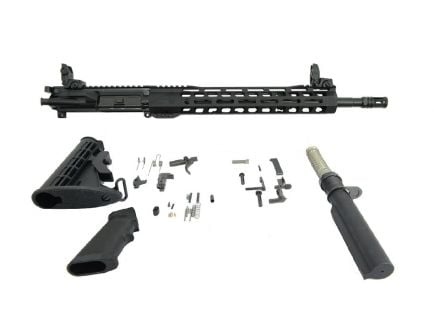 "BLEM PSA 16"" Carbine-Length M4 5.56 NATO 1:7 Nitride 13.5"" Lightweight M-Lok Classic Rifle Kit With MBUS Sight Set"