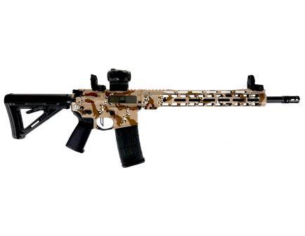 "PSA Custom 5.56 NATO 16"" Nitride 13.5"" MLOK Rail Rifle w/ ROMEO5 - Chocolate Chip"