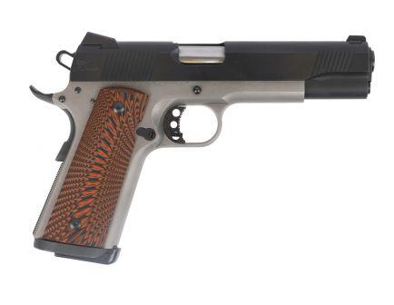 PSA Custom .45 ACP 1911 Stainless Two-Tone w/Micarta Grips