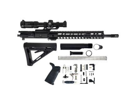 "PSA 16"" 5.56 NATO 1:7 Midlength Nitride 13.5"" Lightweight M-Lok MOE EPT Rifle Kit w/ Vortex Strike Eagle 1/6x24"