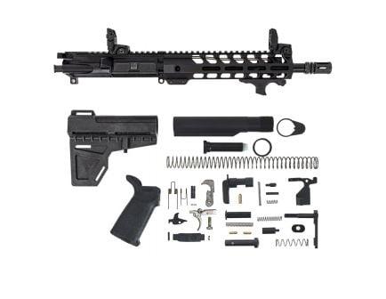 "PSA 10.5"" Carbine-Length 5.56 NATO 1/7 Nitride 9"" M-Lok MOE EPT Shockwave Pistol Kit  W/ Viridian HS1 Mounted Laser & MBUS Sight Set"