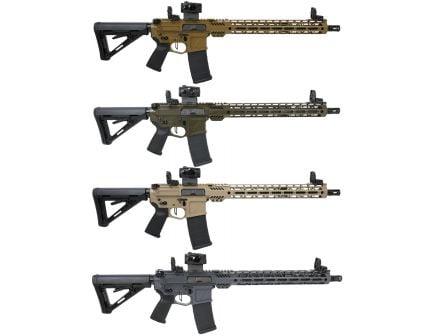 "PSA Custom Billet 5.56 NATO 16"" Nitride 15"" MLOK Rifle w/3.5lb Flat FCG, Romeo5"