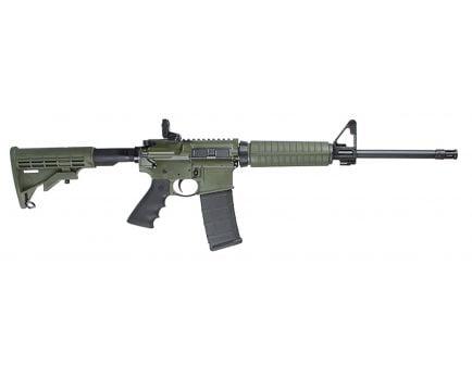 Ruger AR-556 5.56 NATO Adjustable Rapid Deploy Rear Sight Rifle, OD Green - 8504