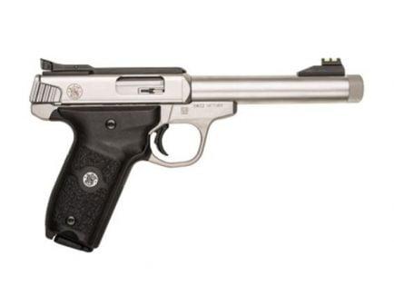S&W SW22 Victory .22LR Target Pistol w/ Threaded Barrel, Stainless - 10201