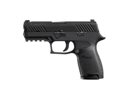 Sig Sauer P320 Nitron Compact .45 Auto/ACP Pistol w/ Night Sights, Black
