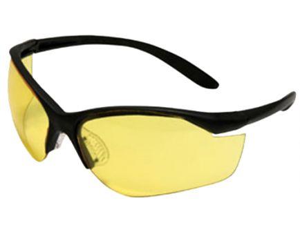 Howard Leight Vapor II Sharp-Shooter Wraparound Anti-Fog Safety Eyewear, Amber Lens, 10/case - R-01536