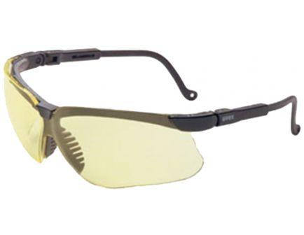 Howard Leight Genesis Sharp-Shooter Wraparound Anti-Fog Safety Eyewear, Amber Lens, 10/case - R-03571