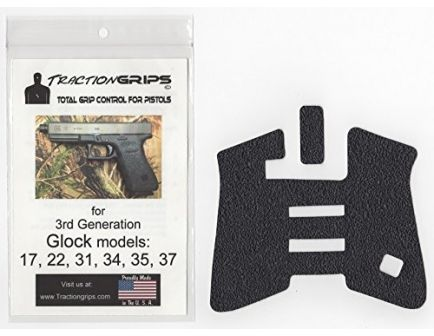 Decal Grips for Glock FingerGroove Frame Gen 3 Sand-Black  G17FGS