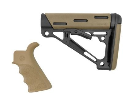 Hogue AR-15/M-16 Grip and Collapsible Buttstock 2-Piece Kit, Flat Dark Earth - 15356
