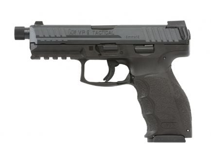 HK VP9 Tactical Threaded Barrel 9mm Pistol w/ Night Sights