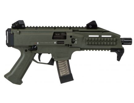 CZ Scorpion EVO 3 S1 9mm Pistol, OD Green - 91355