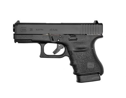 Glock 36 .45 acp Pistol w/ Rail, Black PI3650201FGR