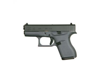 Glock 42 .380 ACP Pistol, Gray Frame - UI4250201GF