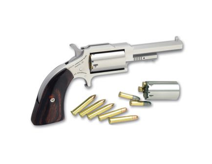 North American Arms 22 LR 5 Round Revolver, Stainless - NAA-1860-250C