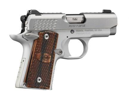 Kimber Micro 9 Raptor, 9mm Pistol, Stainless - 3300109