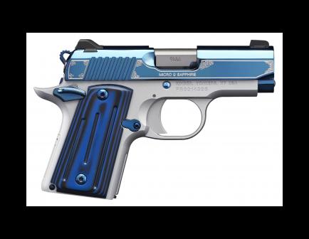 Kimber Micro 9 Sapphire, 9mm Pistol- 3300111