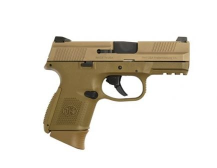 FN FNS-9c 9mm Pistol- FDE 67993