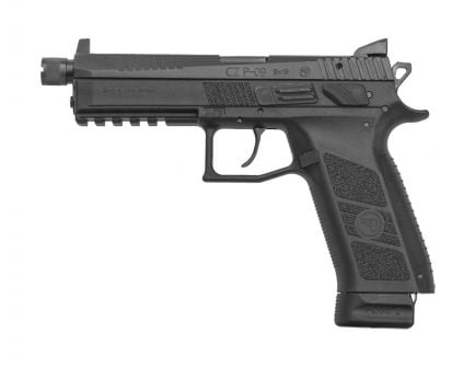 CZ P-09 SR 9mm Pistol, Black - 91270