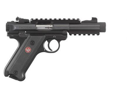 Ruger Mark IV Tactical .22 LR Threaded Barrel Pistol, Black - 40150
