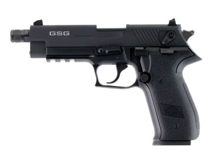 "ATI GSG Firefly 4.9"" .22lr Threaded Barrel Pistol, Black - GERG2210TFF"