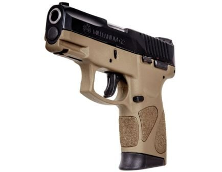 Taurus Millennium PT11 G2 9mm FDE Frame Pistol - 1-111031PG2-12T