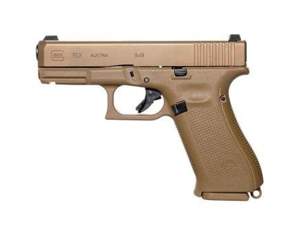 Glock 19X Gen5 9mm Pistol, Flat Dark Earth