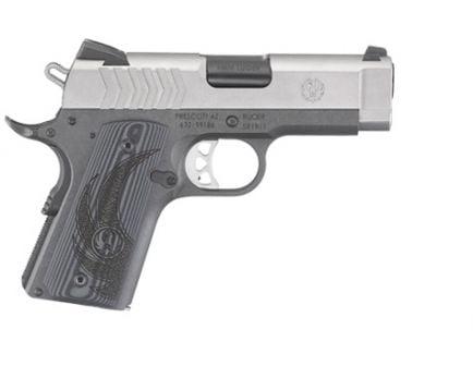 Ruger SR1911 LW Officer 9mm SS Pistol - 6758