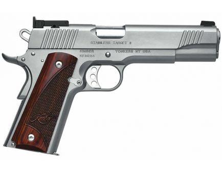 Kimber Stainless Target II .45 ACP Pistol- 3200325