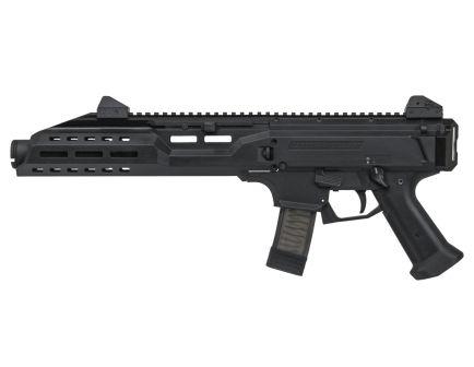 CZ Scorpion EVO 3 S1 9mm Pistol w/ KAK Flash Can, Black - 91353