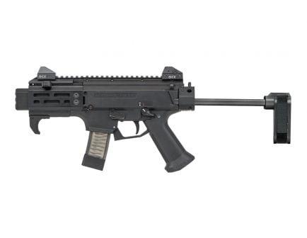 CZ Scorpion EVO 3 S2 Micro 9mm Pistol w/ Brace, Black - 91348
