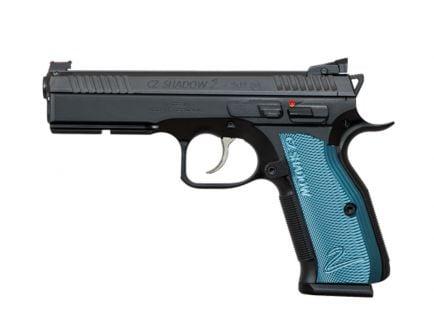CZ Shadow 2 9mm Black & Blue Pistol - 91257